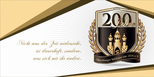 200 Jahre Oldenburger Schützen Jubiläum