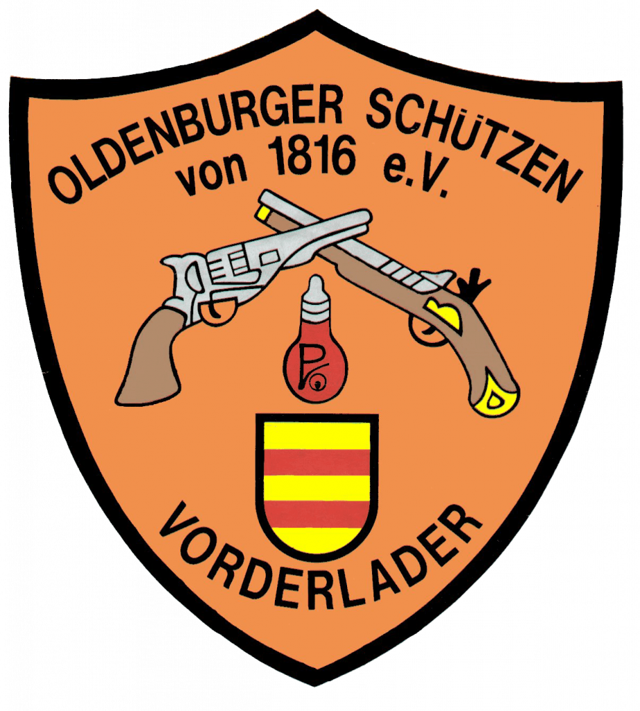 Wappen der Oldenburger Vorderladerschützen